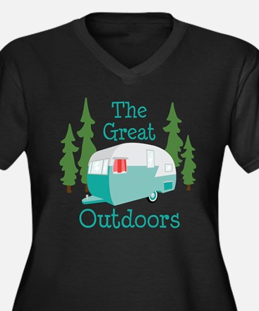 The Great Outdoors Plus Size T-Shirt