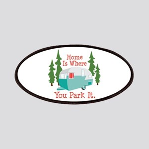 Home Is Where You Park It. Patches