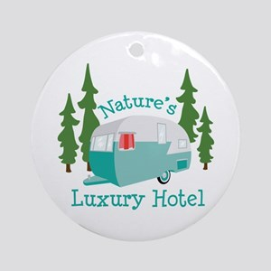 Natures Luxury Hotel Ornament (Round)