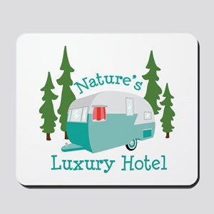Natures Luxury Hotel Mousepad