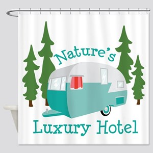 Natures Luxury Hotel Shower Curtain
