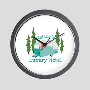 Natures Luxury Hotel Wall Clock