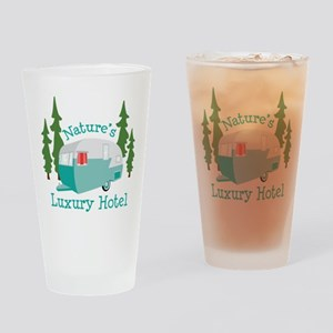 Natures Luxury Hotel Drinking Glass
