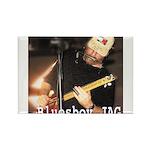 bluesboy JAG Rectangle Magnet