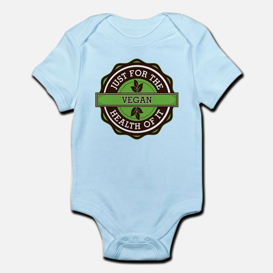 Vegan For the Health of It Infant Bodysuit