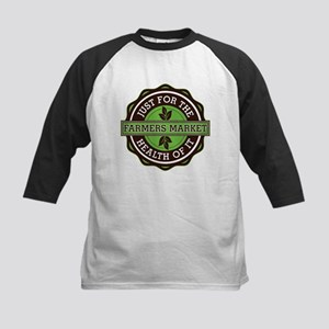 Farmers Market For the Health Kids Baseball Jersey