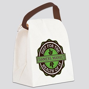 Farmers Market For the Health of Canvas Lunch Bag