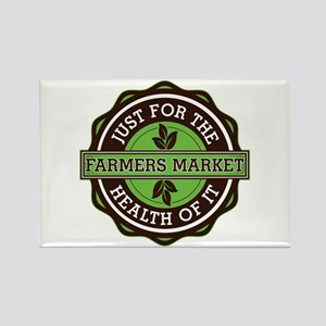 Farmers Market For the Health of Rectangle Magnet