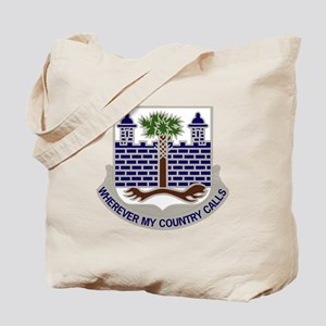 DUI - 4th Bn, 118th Infantry Regiment Tote Bag