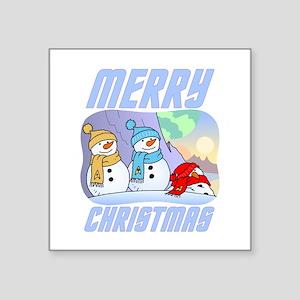 Star Trek Snowmen Sticker