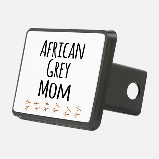 African Grey Mom Hitch Cover