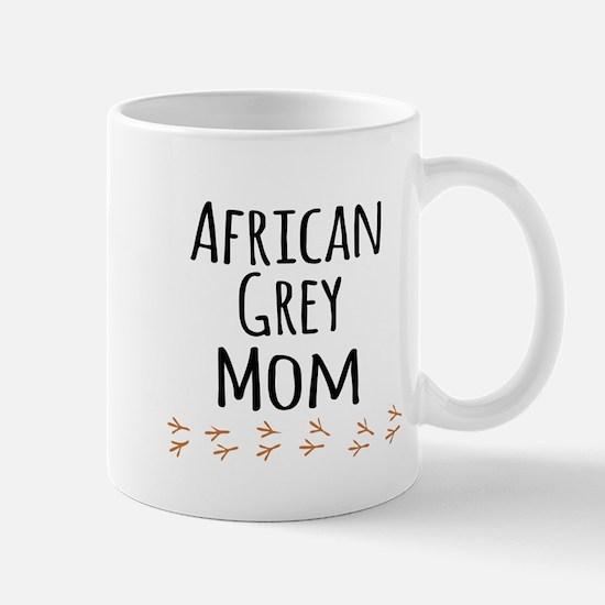 African Grey Mom Mugs