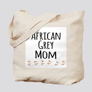 African Grey Mom Tote Bag