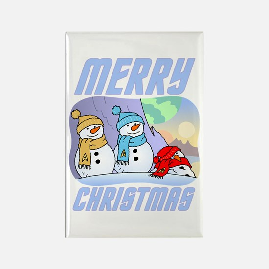 Star Trek Snowmen Magnets