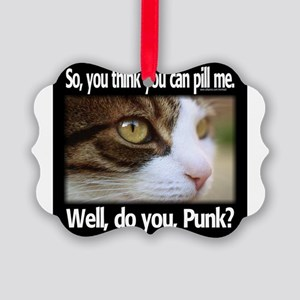 Pill Me, Punk Ornament