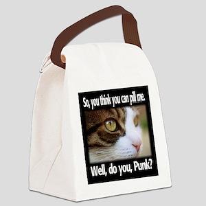 Pill Me, Punk Canvas Lunch Bag