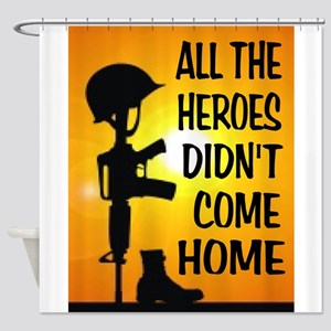 HEROES TRIBUTE Shower Curtain