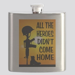 HEROES TRIBUTE Flask