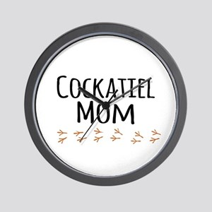 Cockatiel Mom Wall Clock