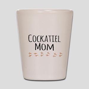 Cockatiel Mom Shot Glass