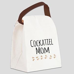 Cockatiel Mom Canvas Lunch Bag