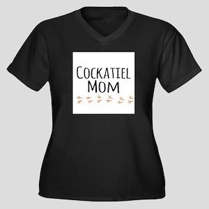Cockatiel Mom Plus Size T-Shirt