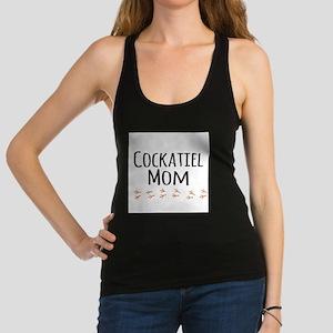 Cockatiel Mom Racerback Tank Top