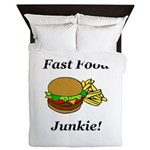 Fast Food Junkie Queen Duvet