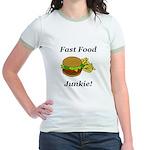 Fast Food Junkie Jr. Ringer T-Shirt
