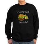 Fast Food Junkie Sweatshirt (dark)