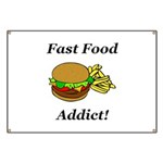 Fast Food Addict Banner
