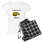 Fast Food Addict Women's Light Pajamas