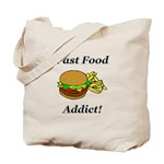 Fast Food Addict Tote Bag