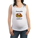 Pancake Addict Maternity Tank Top