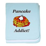 Pancake Addict baby blanket