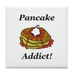 Pancake Addict Tile Coaster