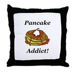 Pancake Addict Throw Pillow