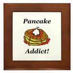 Pancake Addict Framed Tile