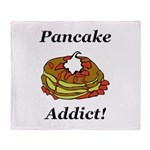 Pancake Addict Throw Blanket