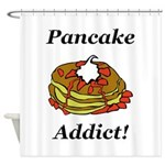Pancake Addict Shower Curtain