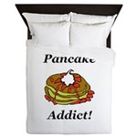 Pancake Addict Queen Duvet