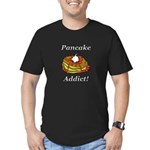 Pancake Addict Men's Fitted T-Shirt (dark)