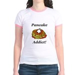 Pancake Addict Jr. Ringer T-Shirt
