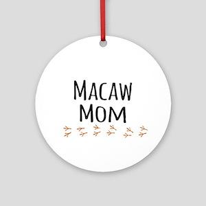 Macaw Mom Ornament (Round)