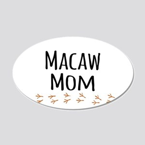 Macaw Mom Wall Decal