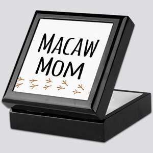 Macaw Mom Keepsake Box