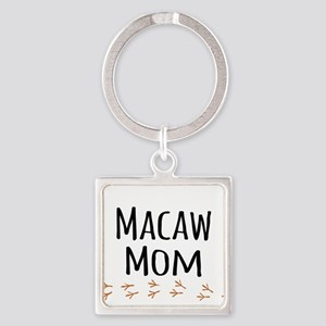 Macaw Mom Keychains