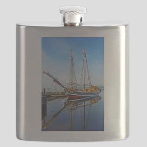 Tall Ship Larinda Flask