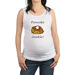 Pancake Junkie Maternity Tank Top
