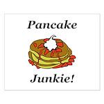 Pancake Junkie Small Poster